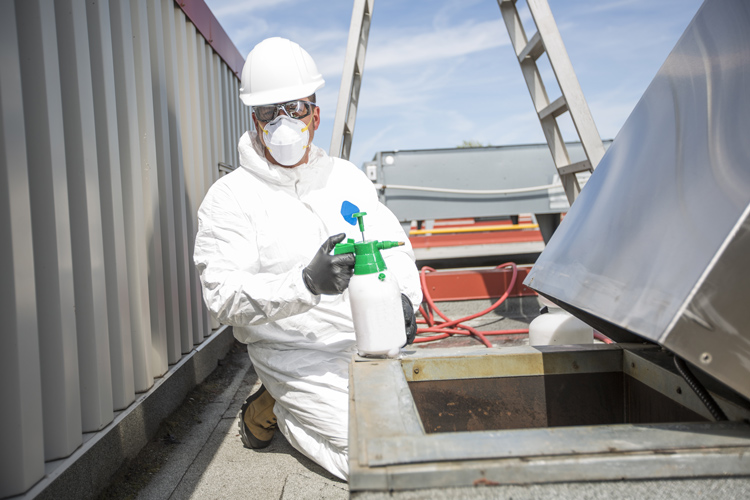 Sämtliche Technik für Sanierungsarbeiten und Schadstoffsanierung zum Mieten