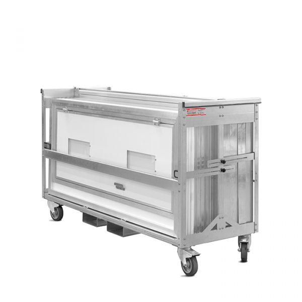 MKI-Transportwagen-Schleuse