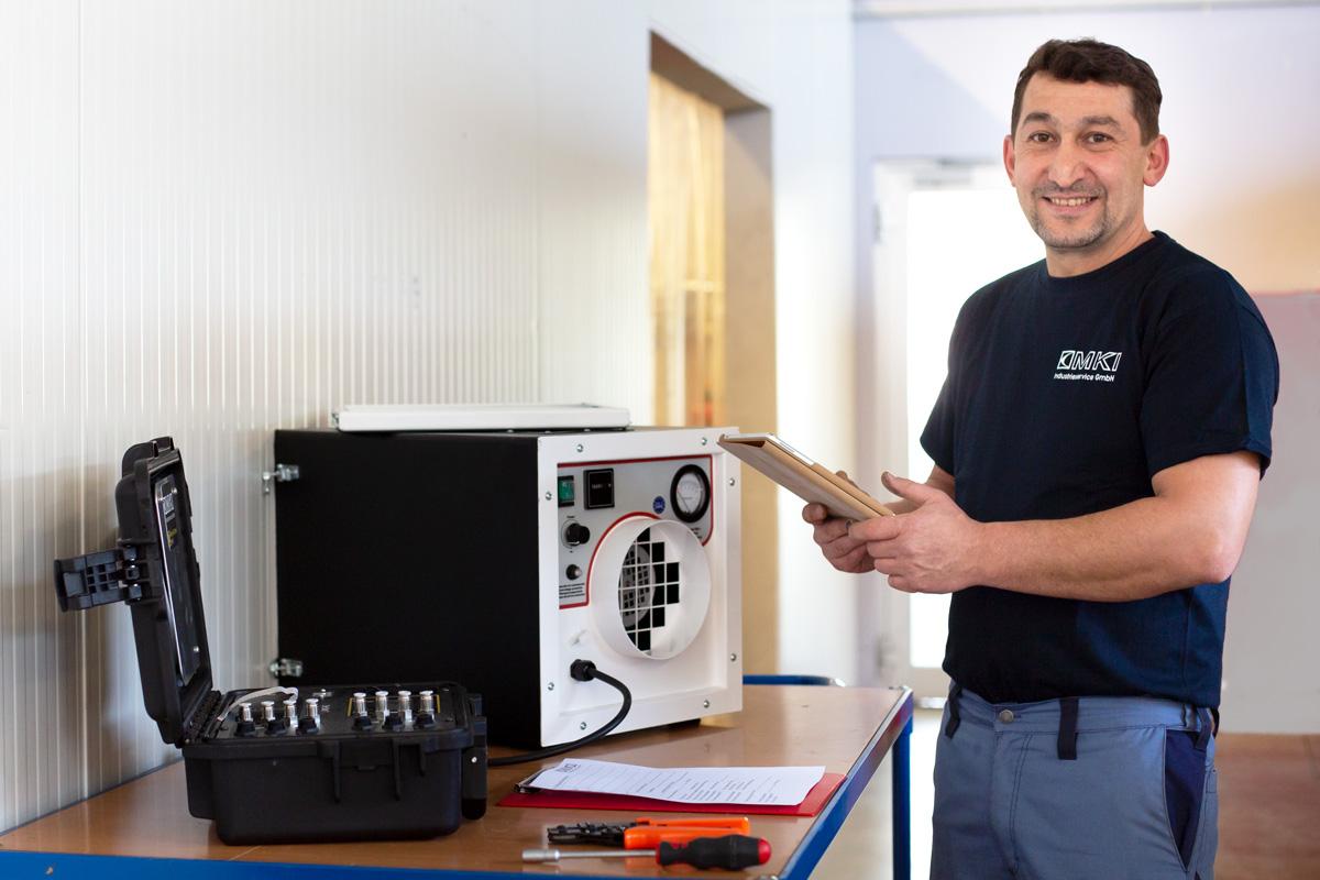 Wartung, Reparatur und Service von Sanierungstechnik und Schadstoff Technik in Limburg Hadamar
