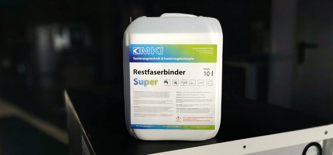 Restfaserbindemittel MKI Super 10 Liter Kanister