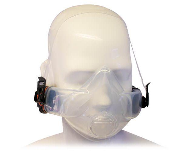 Halbmaske-Cleanspace-Kopf