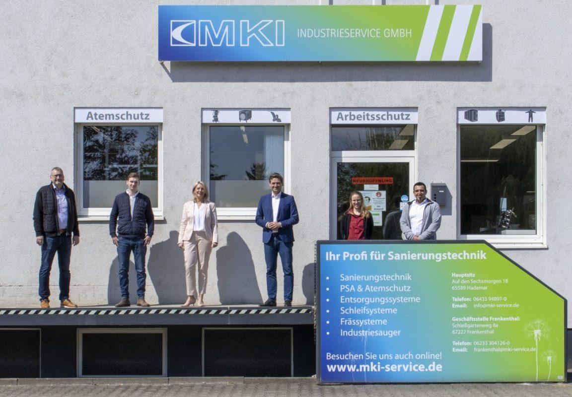 Besuch Christian Baldauf - MKI Store Frankenthal